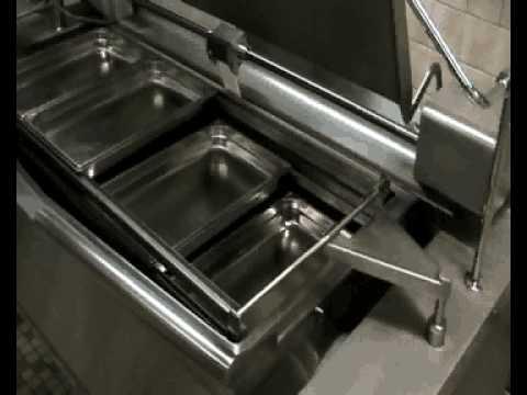 Marmitas y sartenes basculantes rosinox youtube for Sartenes industriales