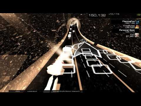 AudioSurf 2: Maroon 5 - Animals (Gryffin Remix)