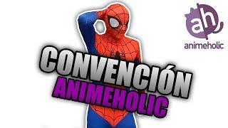 Spiderman En Convencion De Anime Holic Culiacan 2018   Vlog Epico
