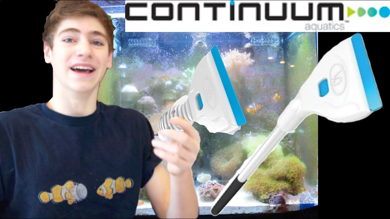 Fish aquarium glass cleaning - Aquablades Clean Aquarium Glass And Acrylic Continuum Aquatics