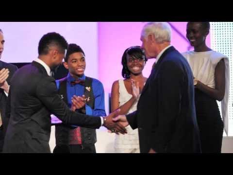 Nadji Jeter receives Global Youth Leadership Award streaming vf