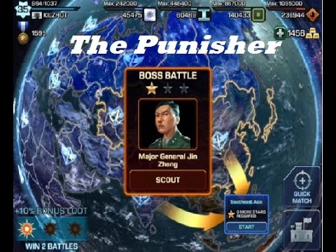 "Empires & Allies Mobile - Boss Fight ""The Punisher"""