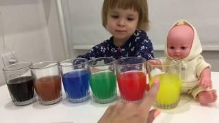 Алиса и кукла пупс играют. Видео для девочек. Часть 7.