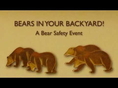 Monrovia Bears in Your Backyard