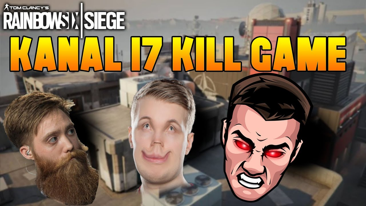 17 Kill Game on Kanal! With SHA77E and z1ronic! | Rainbow Six Siege Highlights