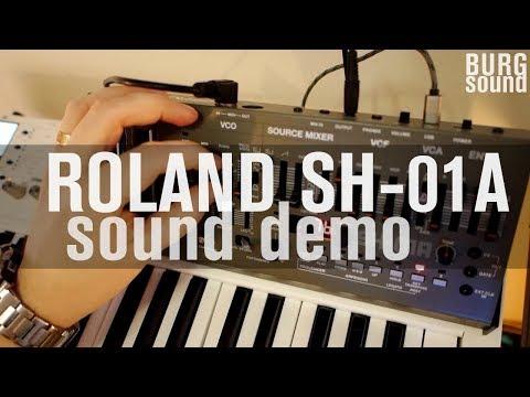 Roland Boutique SH-01A sound demo