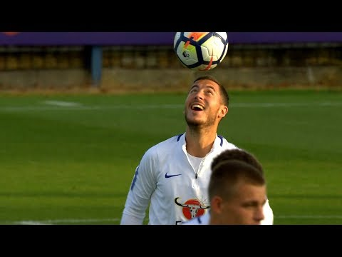Eden Hazard vs Everton U-23 (25/08/2017) HD 1080i