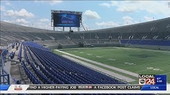 Enhancements made to  Liberty Bowl Memorial Stadium ahead of Tigers football season