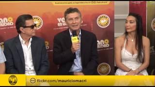 Macri anunció que Palito Ortega y Mora Godoy actuarán en el Obelisco