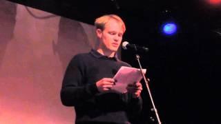 Siggi Der Berg  читает Ф.Тютчева, 20.02.2016 Кёльн