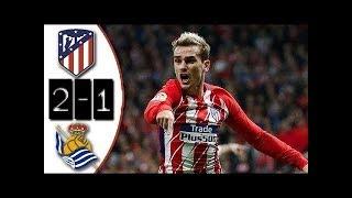 Download Video ATLETICO MADRID vs REAL SOCIEDAD : Liga Santander 2017 Buts et Résumé du match MP3 3GP MP4