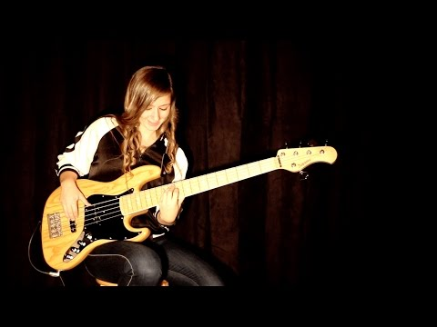Bruno Mars - Versace on the floor (bass cover)