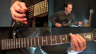 Master of Puppets Guitar Lesson Pt.5 - Metallica - Interlude