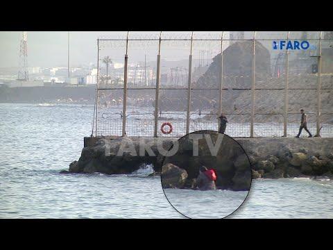 La odisea de una mujer marroquí atrapada en Ceuta: logra huir a nado a Marruecos