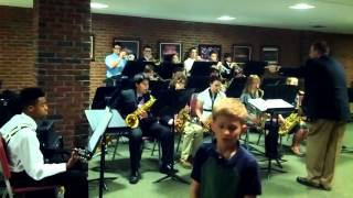 GP North Jazz Band plays Little Brown Jug