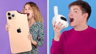 8 DIY Gadget Commestibili Fai-da-te Giganti e in Miniatura