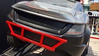 Fast and Furious 8 Car Display at Universal Studios Orlando