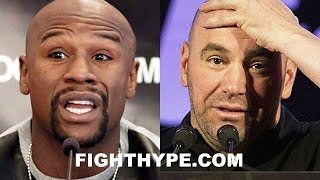 MAYWEATHER CHECKS DANA WHITE FOR USING NAME TO RENEW FOX DEAL; ENDS UFC RUMORS ONCE AND FOR ALL thumbnail