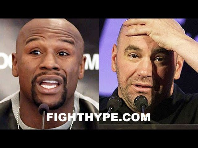 MAYWEATHER CHECKS DANA WHITE FOR USING NAME TO RENEW FOX DEAL; ENDS UFC RUMORS ONCE AND FOR ALL