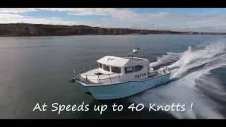 Hydrofoil Catamaran MV Taurus 2016 - DJI Phantom 4