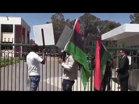 IPOB AUSTRALIA Protest For The Release Of The Leader Of Indigenous People Of Biafra 28 10 2015