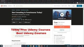 Today Free Udemy Courses   Free Online Courses with Certificat…