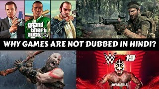 Why Games Are Not Dubbed In Hindi?#GS8