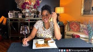 PART 2 VEGAN MukBang ON VEGGIE GRILL. GAYLE KING/KOBE, Oprah and so much more...WHO IS YOUR MENTOR?