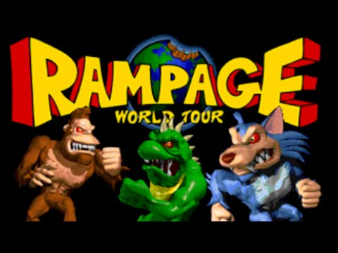 Image result for rampage world tour