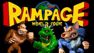 Rampage World Tour - Arcade Playthrough