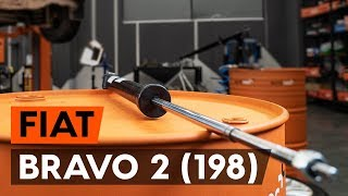 Hoe een schokdemper achteraan vervangen op een FIAT BRAVO 2 (198) [AUTODOC-TUTORIAL]