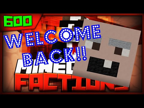 Minecraft FACTIONS Server Lets Play - THE RETURN OF RUMBLECRUMBLE - Ep. 600 ( Minecraft Faction )
