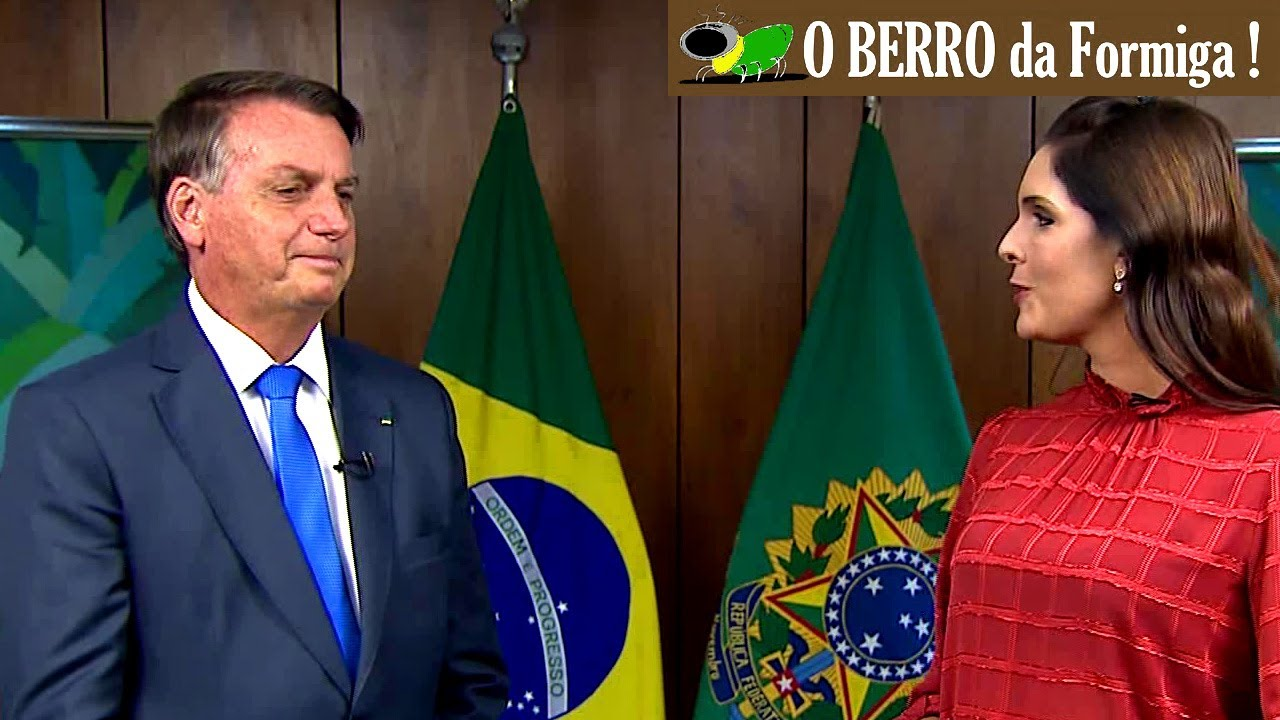 Bolsonaro participa do programa A Voz do Brasil