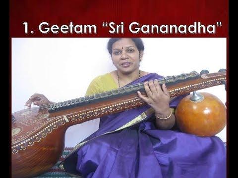 Sri Gananatha Geetham by sudha subramanian