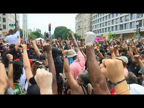 Thousands pour into DC for George Floyd protest