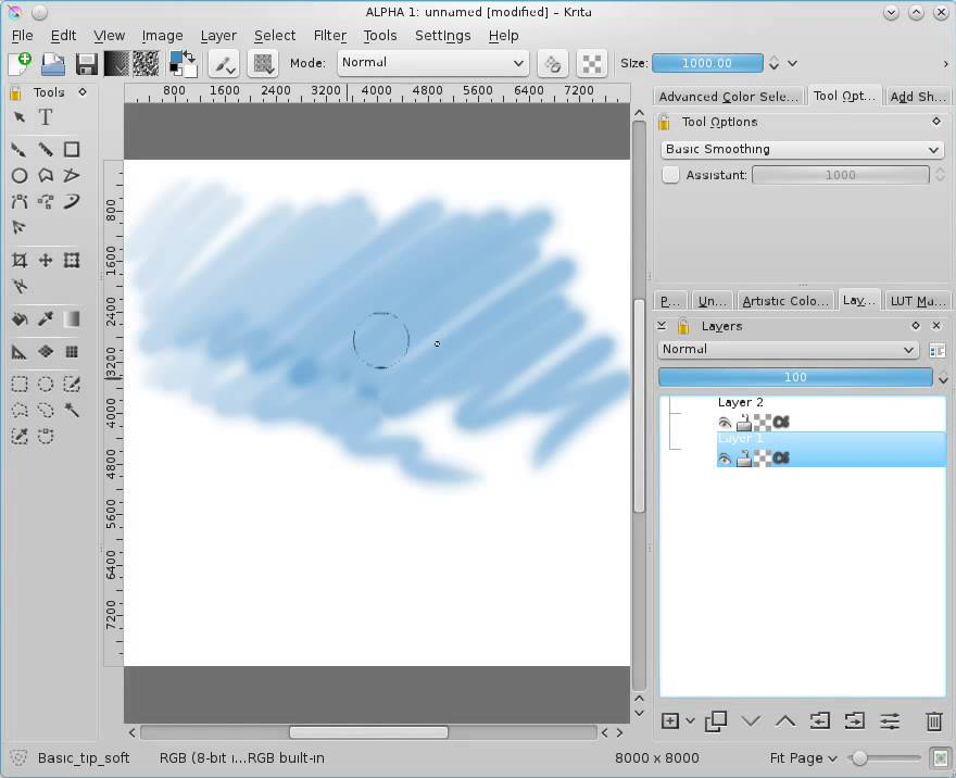 Krita: free paint app - let's make it faster than Photoshop