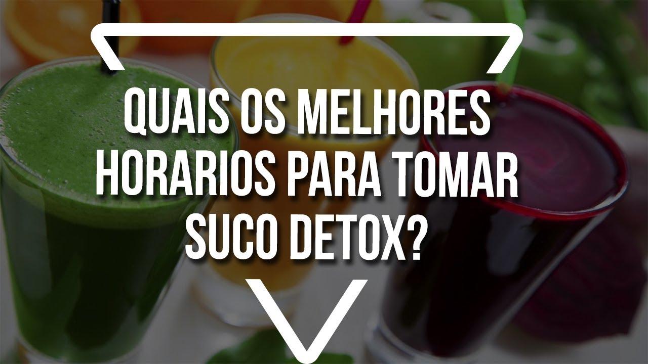 Como tomar detox drink