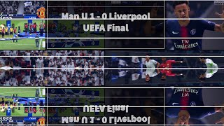 FIFA 19 Manchester united 1 - 0 Liverpool UEFA Cup final + Highlights + Presentation ceromony