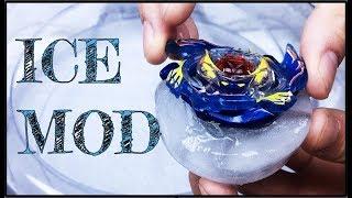 Freezing my Beyblades!   Beyblade Burst Ice Mod   Beyblade Burst Mod