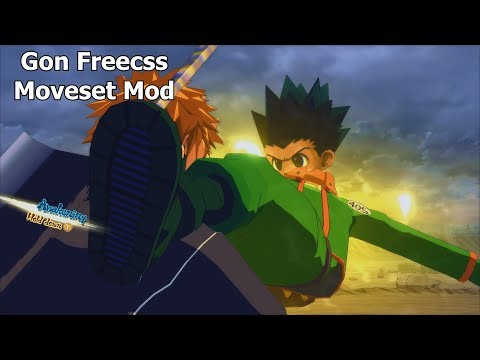 Naruto Ninja Storm 4 Road to Boruto PC MOD 60 FPS Gon Freecss  Moveset Mod Gameplay 1080p