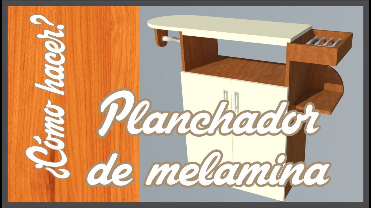 Como hacer un planchador de melamina 123vid - Como construir un zapatero ...