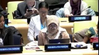 Download Video Ms. Ajarat M Bada - The Missing Milennium Development Goal Initiative - UN Post-2015 negotiations MP3 3GP MP4