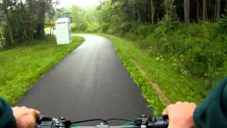 Allegany State Park Bike Ride Part 1