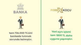 Forex Koçu ile Forex Neden Bankadan Daha Avantajlı?