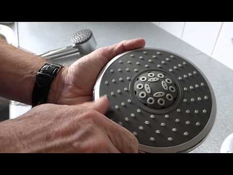 How to clean a shower head and get a better shower