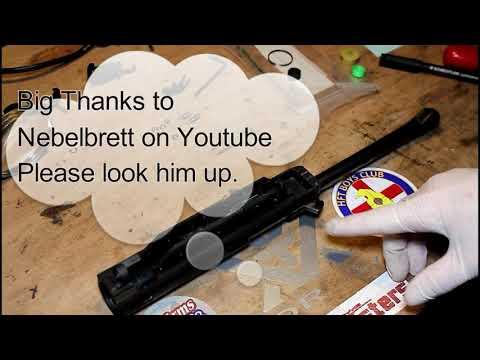 Walther LP53 air pistol review and test by Newtown Naughtyboy