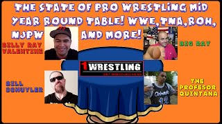 The State Of Pro Wrestling 2015 Round Table! Wwe, Tna, Roh, Njpw, Lucha Underground And More!