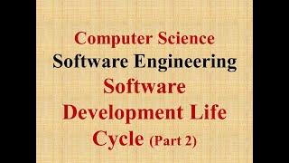 #TRB #businesscomputing   SOFTWARE DEVELOPMENT METHODOLOGY (SDLC- Part 2)