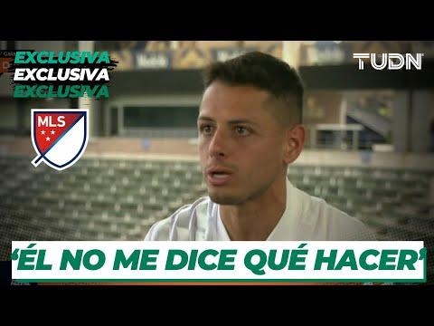 Javier 'Chicharito' Hernández defiende a su coach de vida I TUDN