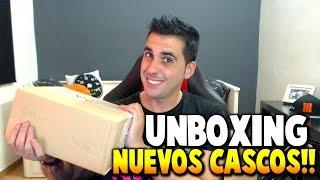 UNBOXING NUEVOS CASCOS!! - ASTRO A40 - Rubinho vlc